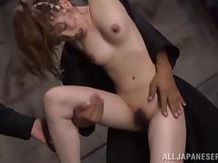 Adorable Miku Ohashi Plays Bondage Games With Dirty Guys