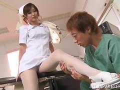 Mouthwatering Nono Mizusawa Goes Hardcore With A Kinky Doctor