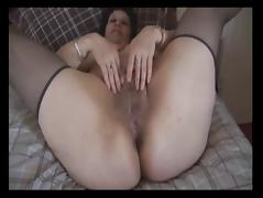 Busty Mature - Big hairy pussy