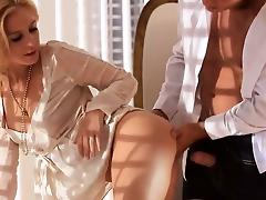 sweet blonde coitus hard in bedroom