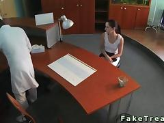 Spy, Amateur, Desk, Doctor, Hidden, Jerking