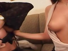 Young brunette gets fucked and a huge facial