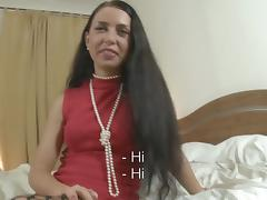 Hawt woman entices sexy man into unfathomable bawdy cleft fucking