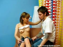 Charming Karen And Ivan Go Hardcore In An Amateur Video