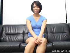 A Sexy, Japanese Pornstar With A Hot Ass Enjoying A Mind-Blowing Doggy Style Fuck