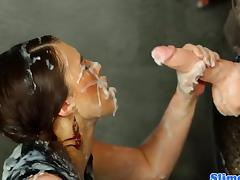 All, Blowjob, Bukkake, Cum, Doll, Gloryhole