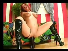 Big Squirt With Big Dildo BVR