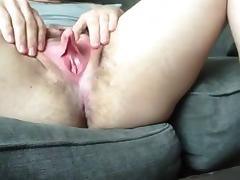Big Clit, Big Clit, Clit, Hairy, Masturbation, Russian