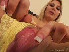 Hot POV sex with the busty cock thirsty blonde Celestra