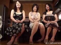 Lucky, Asian, Big Tits, Handjob, Hardcore, Japanese