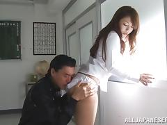 Fantastic Yuki Kami Goes Hardcore With A Dirty Teacher