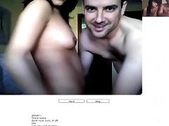 Chatroulette #49 Excited spanish pair fuck.avi