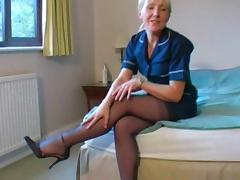 British, Amateur, British, Nylon, Stockings