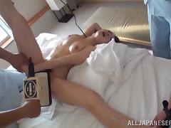 Horny Asian Babe Gets Her Hot Pussy Toyed Hardcore