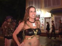 Sexy ladies show off their bodies in party clip