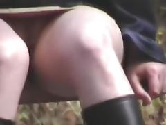 Voyeur 9, By the road, no pants (MrNo)