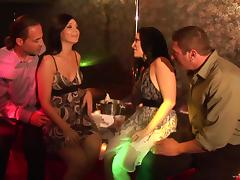 Striking Priscilla Jane And Velvet Licx Exchange Their Couples