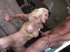 Monica Mayhem fucks hard with Nick Manning