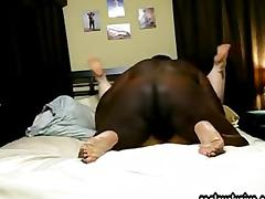 My interracial Fun with a BBW Granny