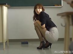 Miniskirt, Asian, Banging, College, Couple, Group