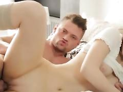 Russian duo having saucy sex