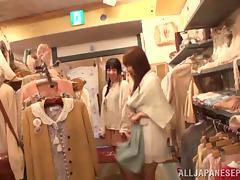 Unpredictable Shunka Ayami nice teen in lesbian action