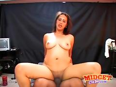 Midget, BBW, Big Tits, Chubby, Chunky, Curvy