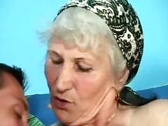 German Granny With Hairy Pussy In Classic Sex Clip