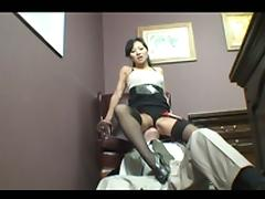 Hot chinese fuck as fetish cock sucking and fuck combines