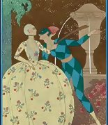 George Barbier Erotic Fashion Art Deco Illustrator