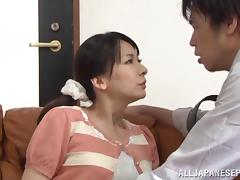 Shiori Ihara naughty mature Asian babe cheats on hubby