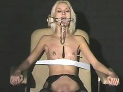 Needle, BDSM, Blonde, Boobs, Extreme, Fetish