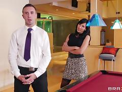 Hot And Wild Pornstars Fuck On The Billiard Table