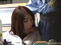 Hot Japanese Girls Get Wild In The Office Group Sex