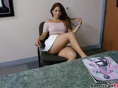 Office, Blowjob, Latina, Office, Penis, Reality