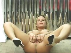 Adorable, Adorable, Blonde, Pretty, Pussy, Spreading