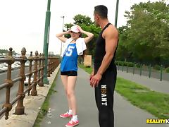 Sport, Anal, Big Cock, Blowjob, Close Up, Doggystyle