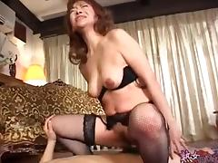 Mom, Asian, Japanese, Mature, Mom, Stockings