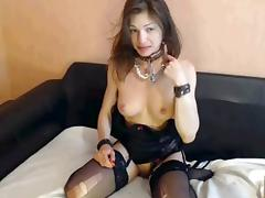 used fuck of slutty girl, gag, spanked and used well 2