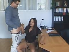 Boss, Blowjob, Boobs, Boss, Brunette, Cumshot
