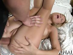 Sampling beautys luscious anal canal