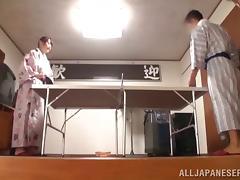 Japanese couple licking pussy and fucking hardcore