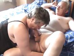 Swinger older big beautiful woman cums hard