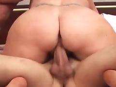 Chubby Mom Gets DP'ed By Two Young Dicks XXX video