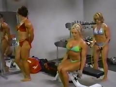 Carla Haug Female Bodybuilder Looking Buff