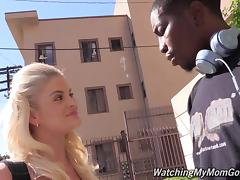 Lewd blondes Alana Evans and Miss Dallas share Isiah Maxwell's BBC