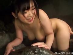 japanese cowgirl masturbates nicely then fucked hardcore