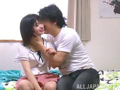Marvelous Japanese Bimbo Getting Hammered Missionary