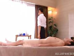 Naughty hot ass porn chcik Iroha Natsume gives cock a fuck massage