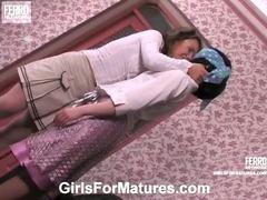 Rita and Gloria vivid lesbian mature